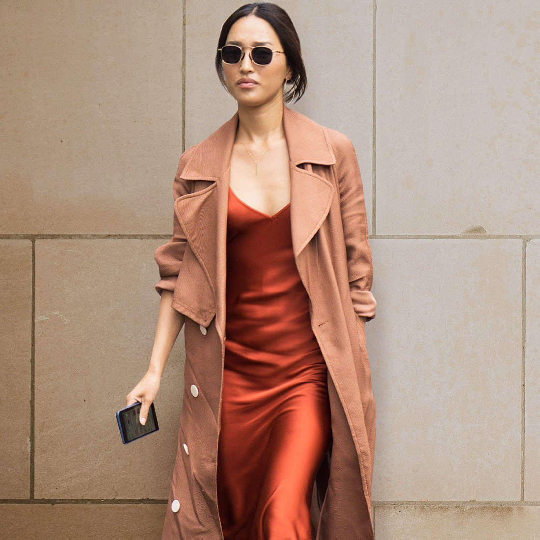 5 образов с платьем-комбинацией
