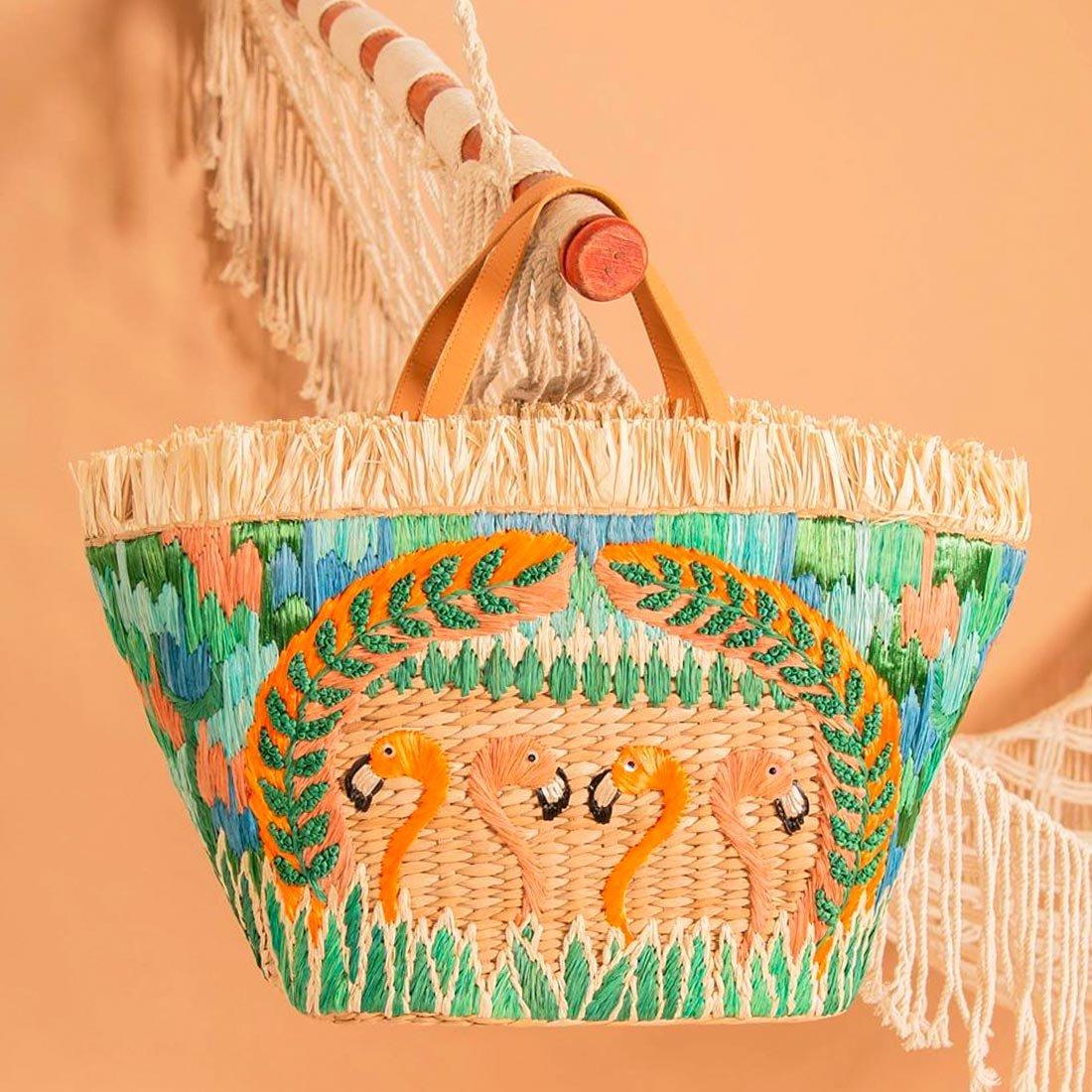 Тренд: пляжная сумка