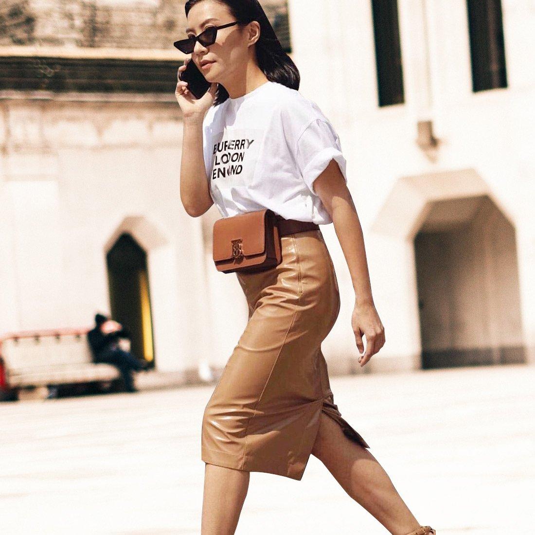 Street style: актуальные образы с юбкой