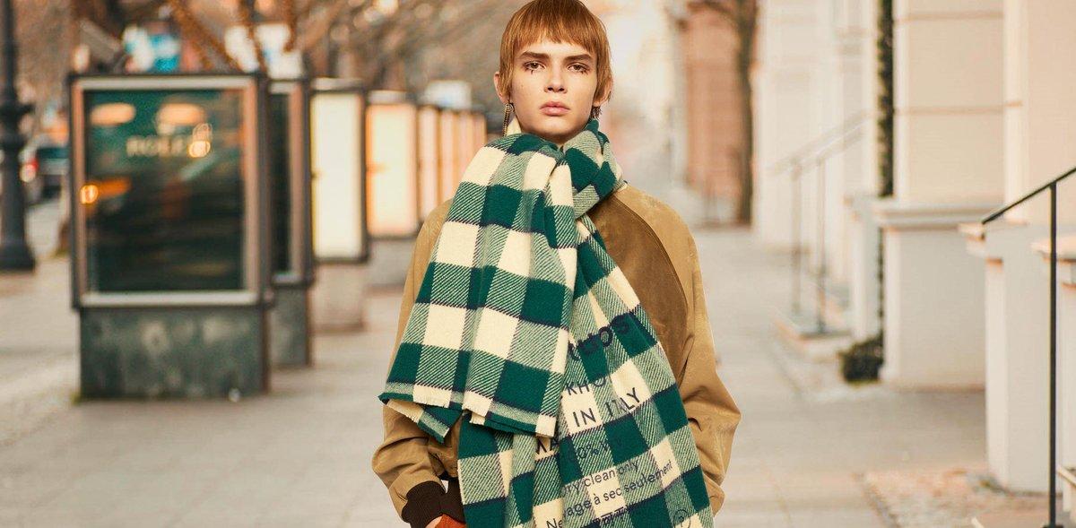 Уютный шарф для непредсказуемой погоды