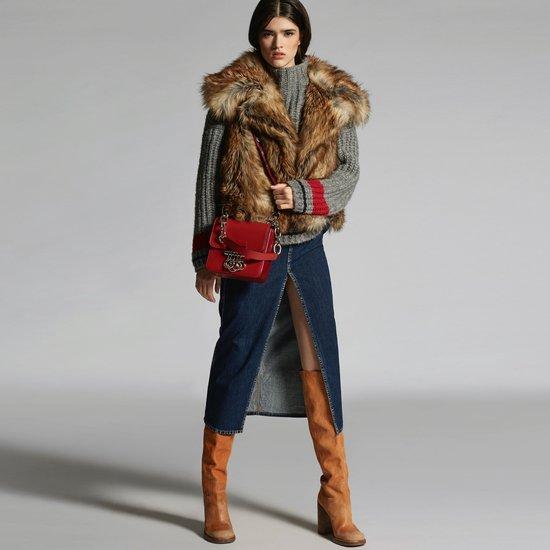 5 способов носить юбку миди зимой