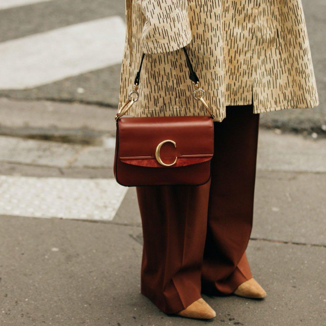 Модный акцент: handheld bags