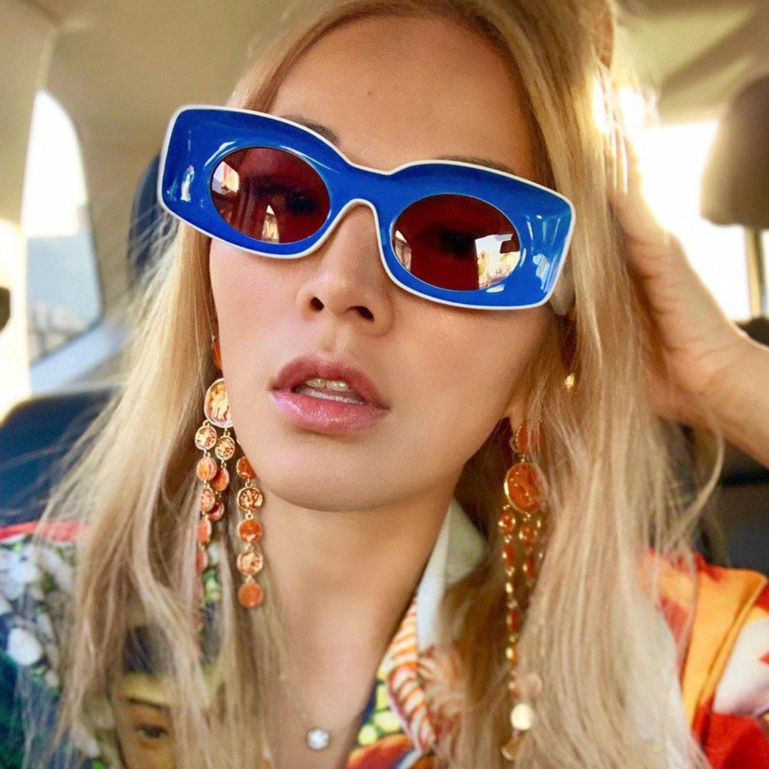 Актуально сейчас: солнцезащитные очки